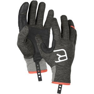 Ortovox Fleece Light Gloves Herr dark grey blend dark grey blend