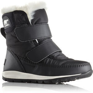 Sorel Whitney Short Hook-and-loop Boots Barn black/sea salt black/sea salt
