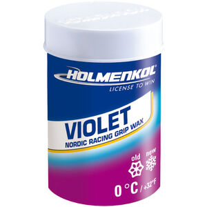 Holmenkol Grip Grip Wax 45g violet violet