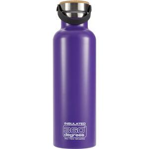360° degrees Vacuum Insulated Drink Bottle 750ml purple purple