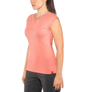 Millet Cloud Peak Short Sleeve Shirt Dam peach peach
