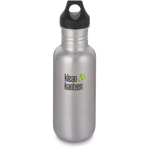 Klean Kanteen Classic Bottle Loop Cap 532ml brushed stainless brushed stainless