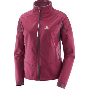 Salomon Equipe TR Jacket Dam beet red/fig beet red/fig