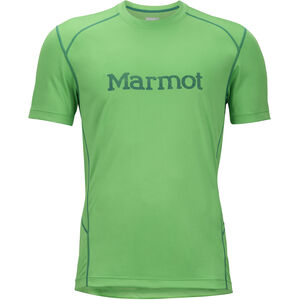 Marmot Windridge SS Shirt with Graphic Herr emerald/shady glade emerald/shady glade