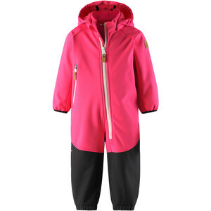 Reima Mjosa Softshell Overall Barn candy pink candy pink
