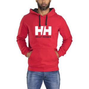Helly Hansen HH Logo Hoodie Herr red red