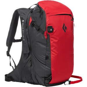 Black Diamond Jetforce Pro Avalanche Backpack 35l Red Red