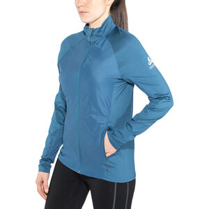 Odlo Velocity Element Light Jacket Herr poseidon-blue jewel poseidon-blue jewel