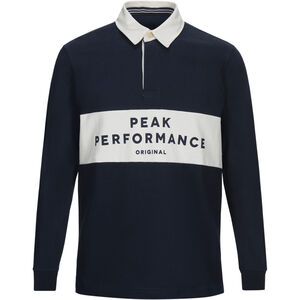 Peak Performance Rugby LS Shirt Herr salute blue salute blue