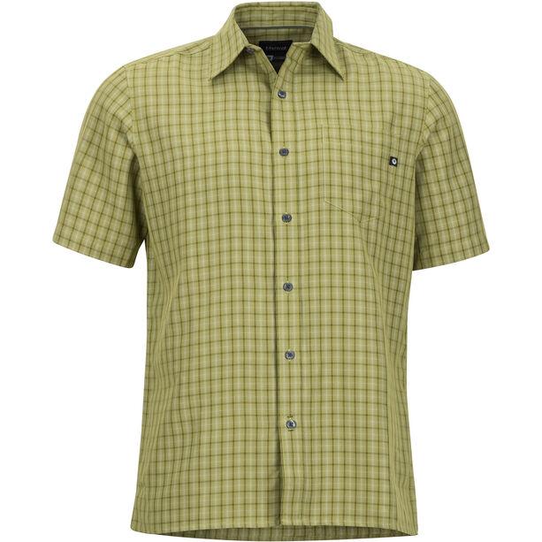 Marmot Eldridge SS Shirt Herr wheatgrass