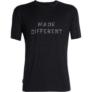 Icebreaker Tech Lite Made Different SS Crewe Shirt Herr black black