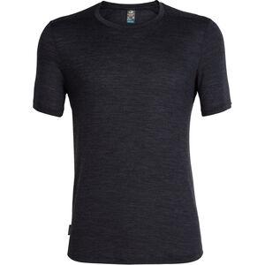 Icebreaker Sphere SS Crewe Shirt Herr black heather black heather