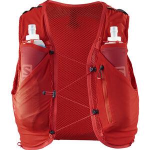 Salomon Adv Skin 5 Backpack Set Herr fiery red fiery red