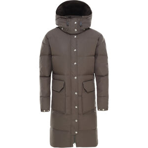 The North Face Down Sierra Long Parka Dam new taupe green new taupe green