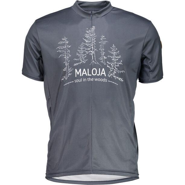 Maloja ZwingseeM. Multi Short Sleeve Multisport Jersey Herr waterfall