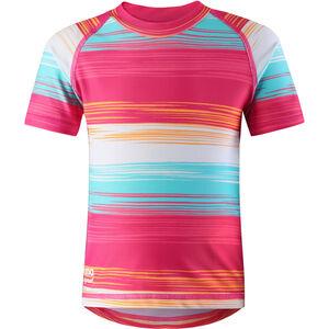 Reima Azores Swim Shirts Barn candy pink candy pink