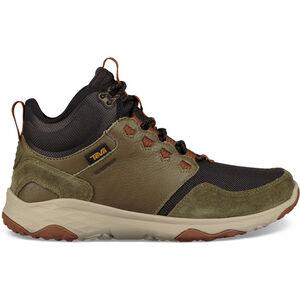 Teva Arrowood Venture WP Mid Shoes Herr dark olive dark olive