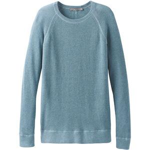 Prana Milani Crew Sweater Dam vintage blue heather vintage blue heather