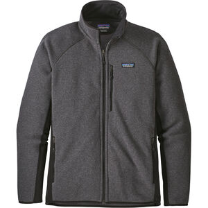Patagonia Performance Better Sweater Jacket Herr forge grey with black forge grey with black