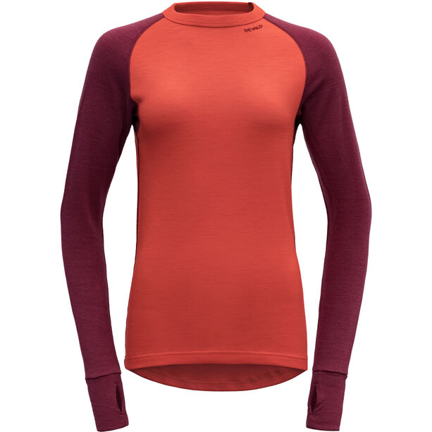 Devold Expedition Shirt Dam beetroot
