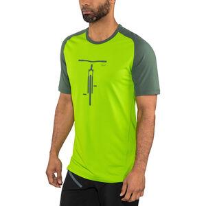 Norrøna Fjørå Equaliser Lightweight T-shirt Herr bamboo green bamboo green