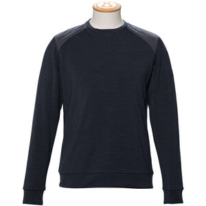 Alchemy Equipment Merino Tecnowool Crew Neck Pullover Herr dark navy dark navy
