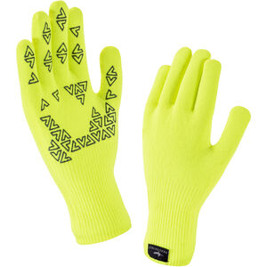 Sealskinz Ultra Grip Gloves hi vis yellow hi vis yellow