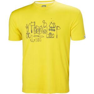 Helly Hansen Skog Graphic T-shirt Herr dandelion dandelion