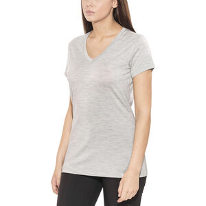 Bergans Bloom Wool T- Shirt Dam grey grey
