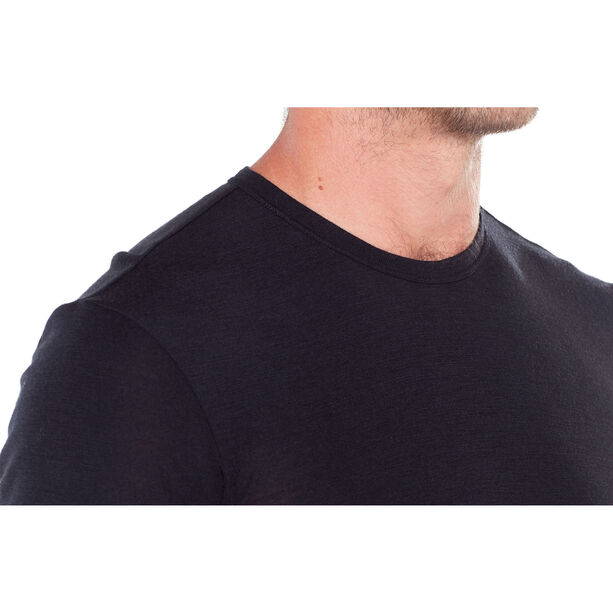 Icebreaker 175 Everyday SS Crewe Shirt Herr black