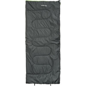 CAMPZ Surfer 400 Sleeping Bag anthracite/green anthracite/green