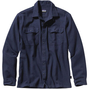 Patagonia Fjord LS Flannel Shirt Herr navy blue navy blue
