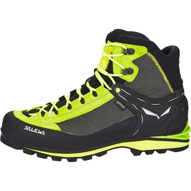 SALEWA Crow GTX Shoes Herr cactus/sulphur spring