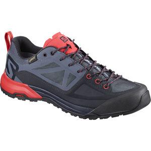 Salomon X Alp SPRY GTX Shoes Dam graphite/crown blue/poppy red graphite/crown blue/poppy red