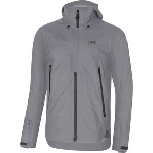 GORE WEAR H5 Gore-Tex Active Hooded Jacket Herr terra grey terra grey
