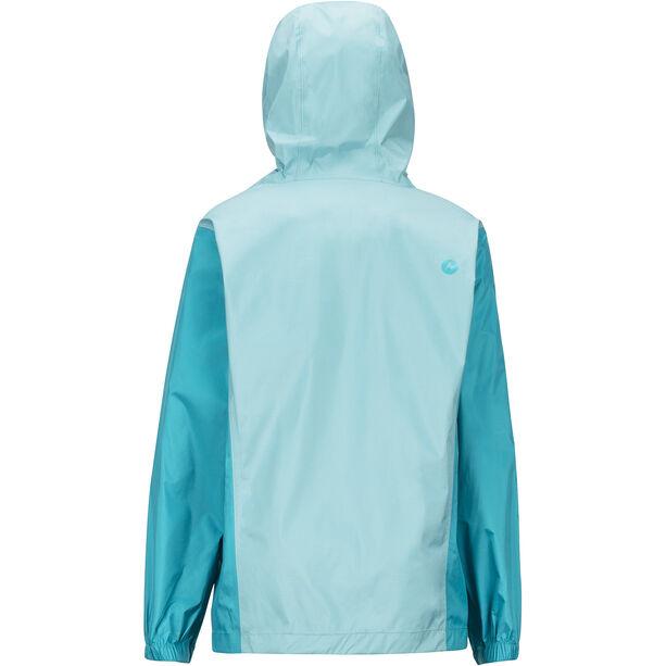 Marmot PreCip Eco Jacket Flickor Aquarelle/Blue Tile