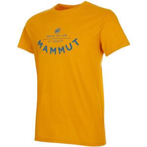 Mammut Seile T-Shirt Herr Golden PRT2 Golden PRT2