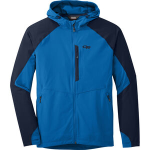 Outdoor Research Ferrosi Hooded Jacket Herr glacier/night glacier/night