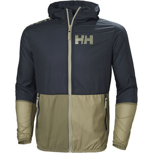 Helly Hansen Active Windbreaker Jacket Herr graphite blue graphite blue