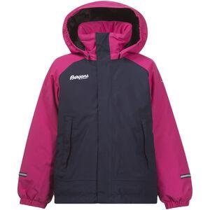 Bergans Storm Insulated Kids Jkt Barn hot pink/navy hot pink/navy