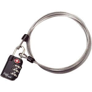 Eagle Creek 3-Dial TSA Lock & Cable graphite graphite