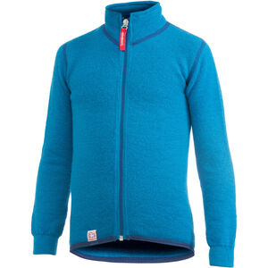 Woolpower 400 Full Zip Jacket Barn dolphin blue dolphin blue