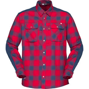 Norrøna Svalbard Flannel Shirt Herr jester red jester red