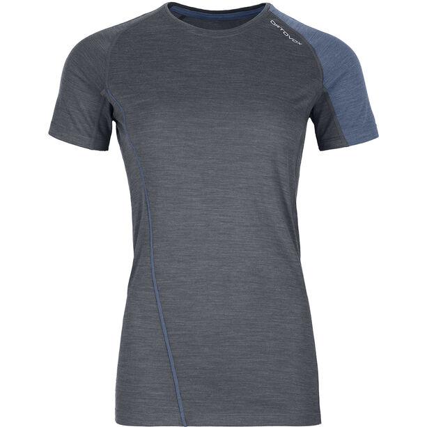 Ortovox 120 Cool Tec Fast Forward SS T-Shirt Dam black steel blend