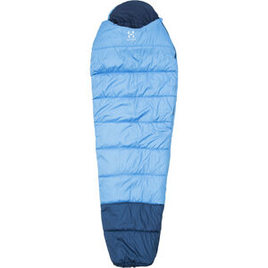Haglöfs Moonlite -1 Sleeping Bag aero blue/hurricane blue aero blue/hurricane blue