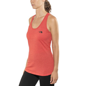The North Face Play Hard Tank Dam juicy red heather juicy red heather