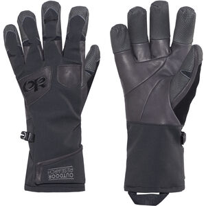 Outdoor Research Extravert Gloves Herr black/charco black/charco