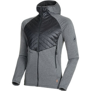 Mammut Aconcagua Light Hybrid ML Hooded Jacket Herr black black