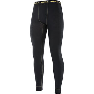Devold Wool Mesh Long Johns Herr black black