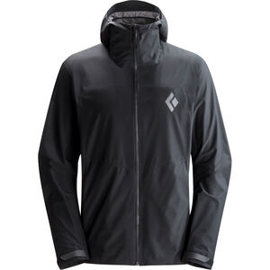 Black Diamond Liquid Point Shell Jacket Herr black black